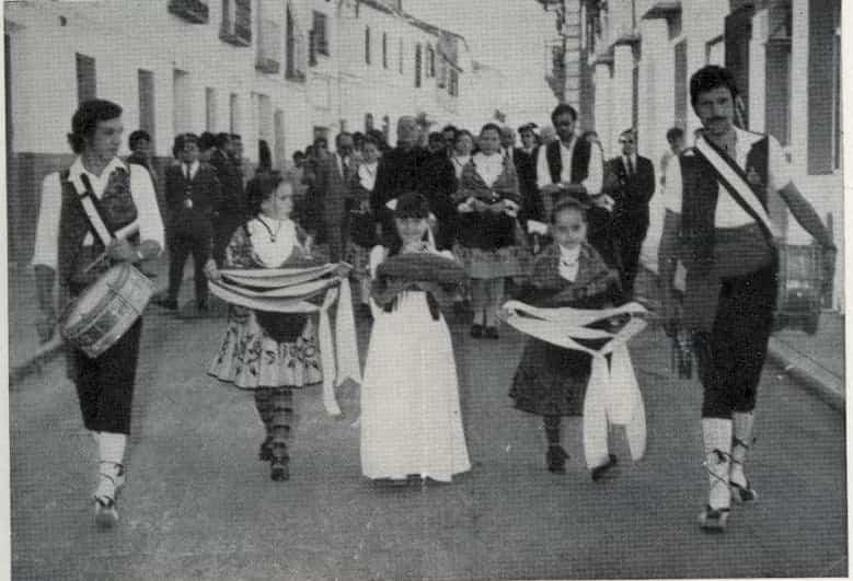 Nuevas fotografías antiguas de Herencia: Feria y la Romería 99