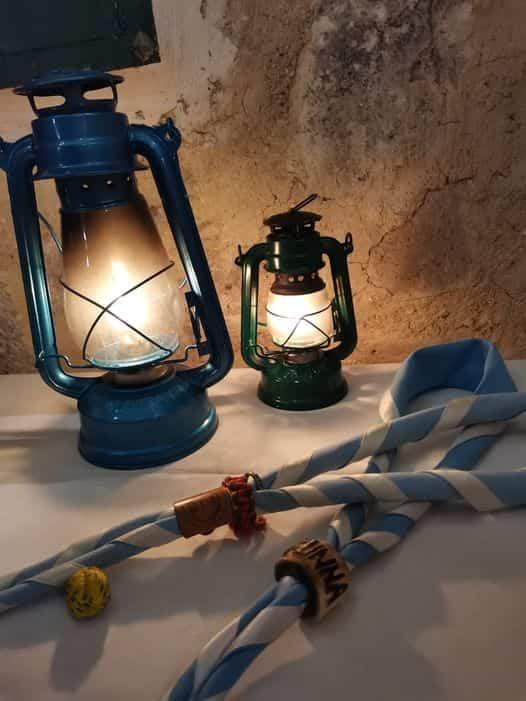 Bendición de imágenes del Niño Jesús y reparto de la Luz de Belén 6