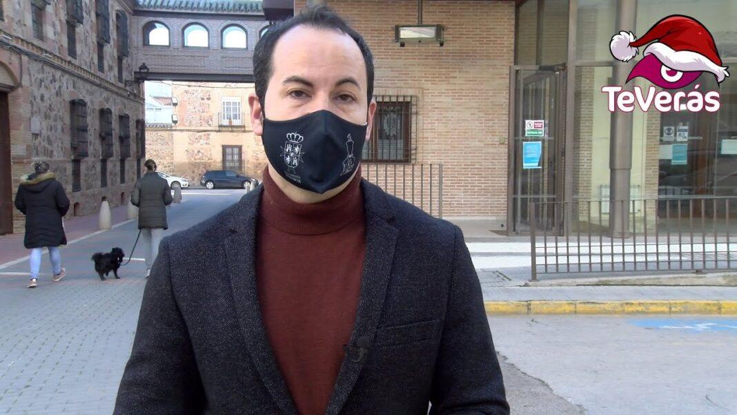 El alcalde de Herencia, Sergio García-Navas, felicita la Navidad a los herencianos 1