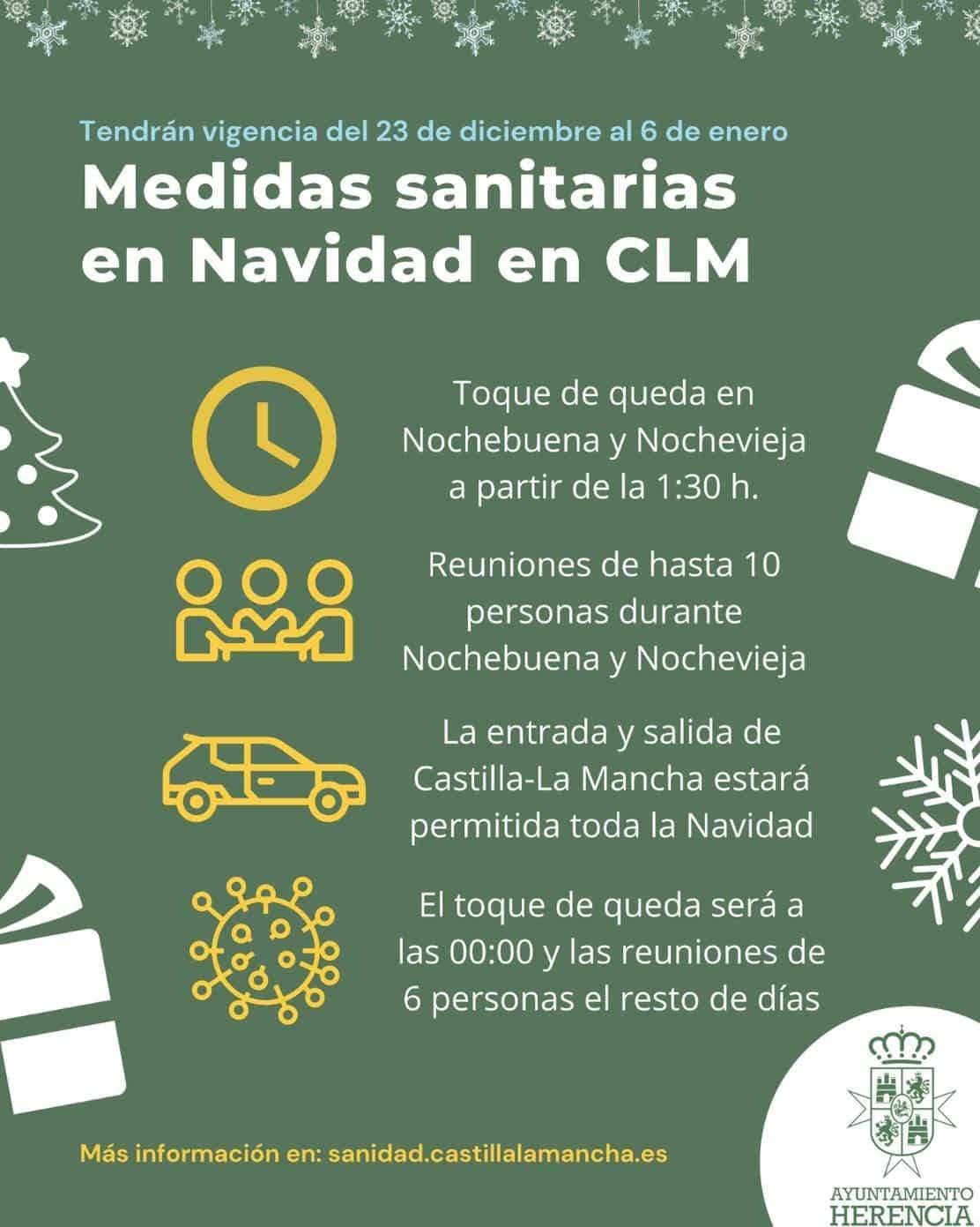 Estas son las medidas que regularán la Navidad en Castilla-La Mancha 3