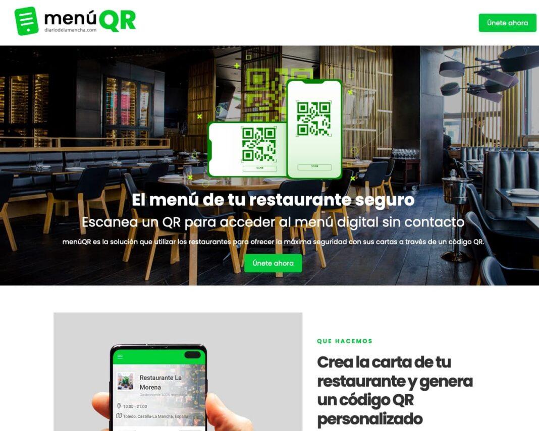 menúQR la solución gratis para crear una carta online para tu restaurante con código QR 1