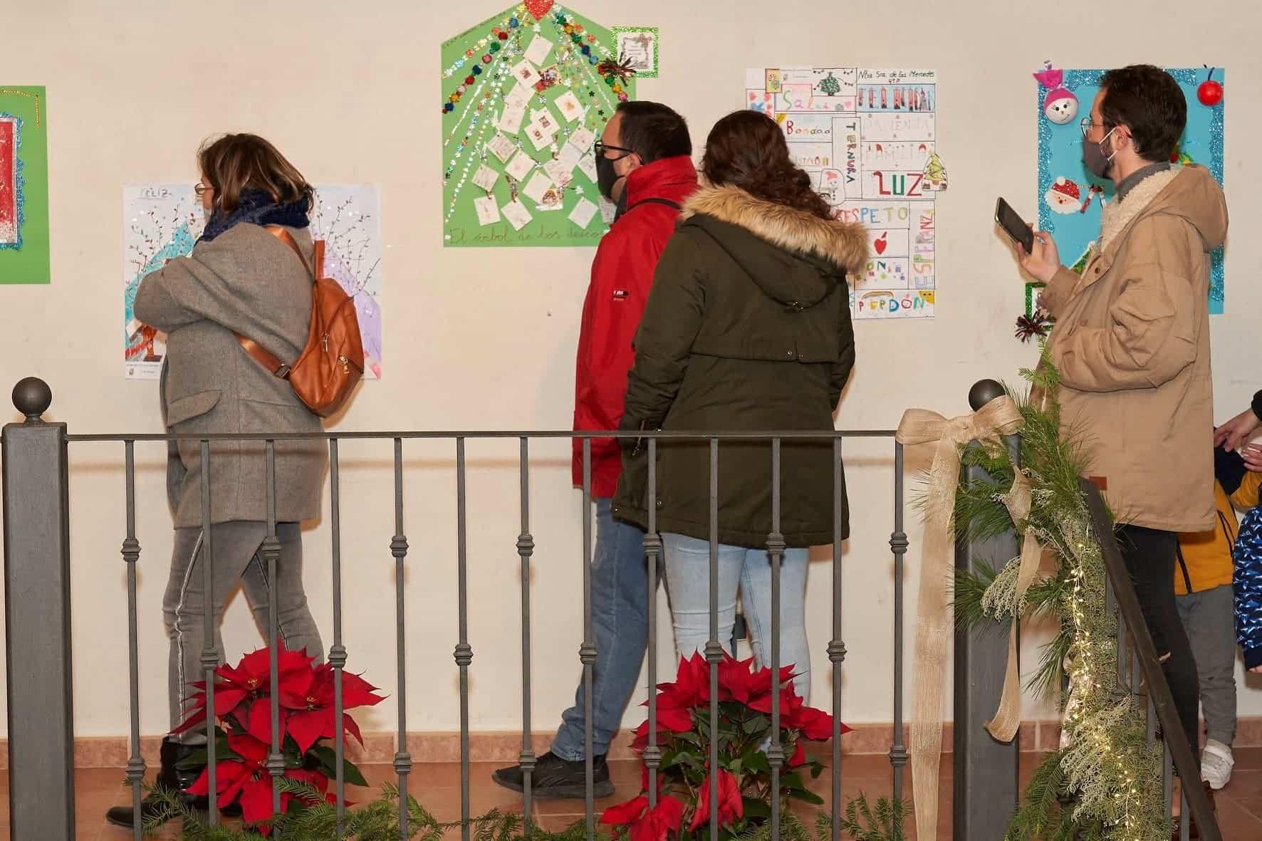 Inaugurada la Casita de la Navidad en la Sala de Exposiciones Agustín Úbeda 28