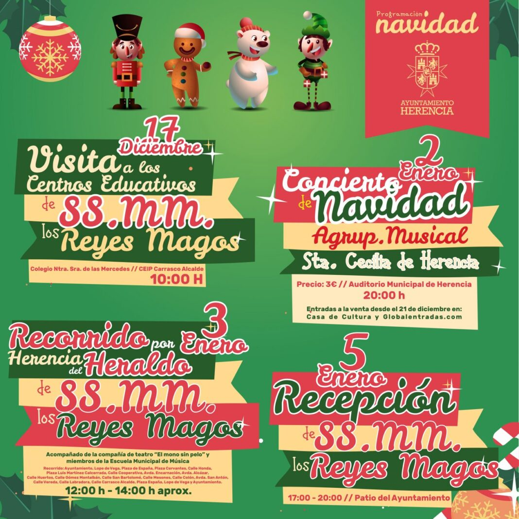 Actividades para que en Herencia no falte la fantasía esta Navidad 1