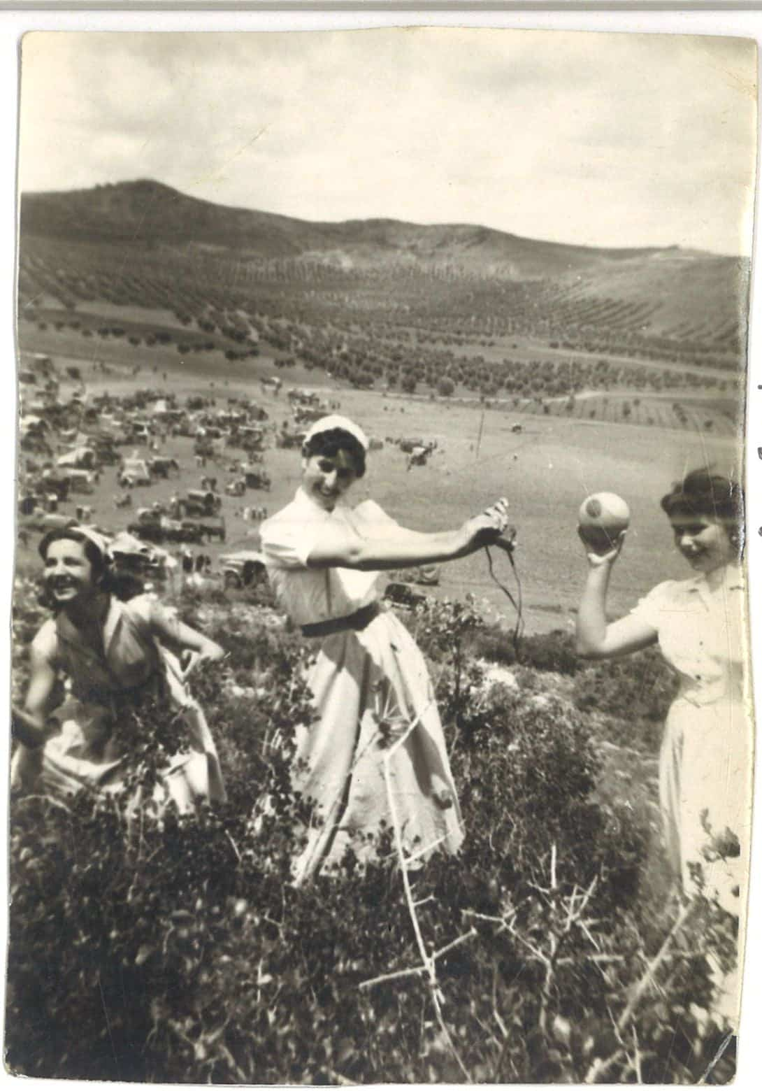 Nuevas fotografías antiguas de Herencia: Feria y la Romería 108