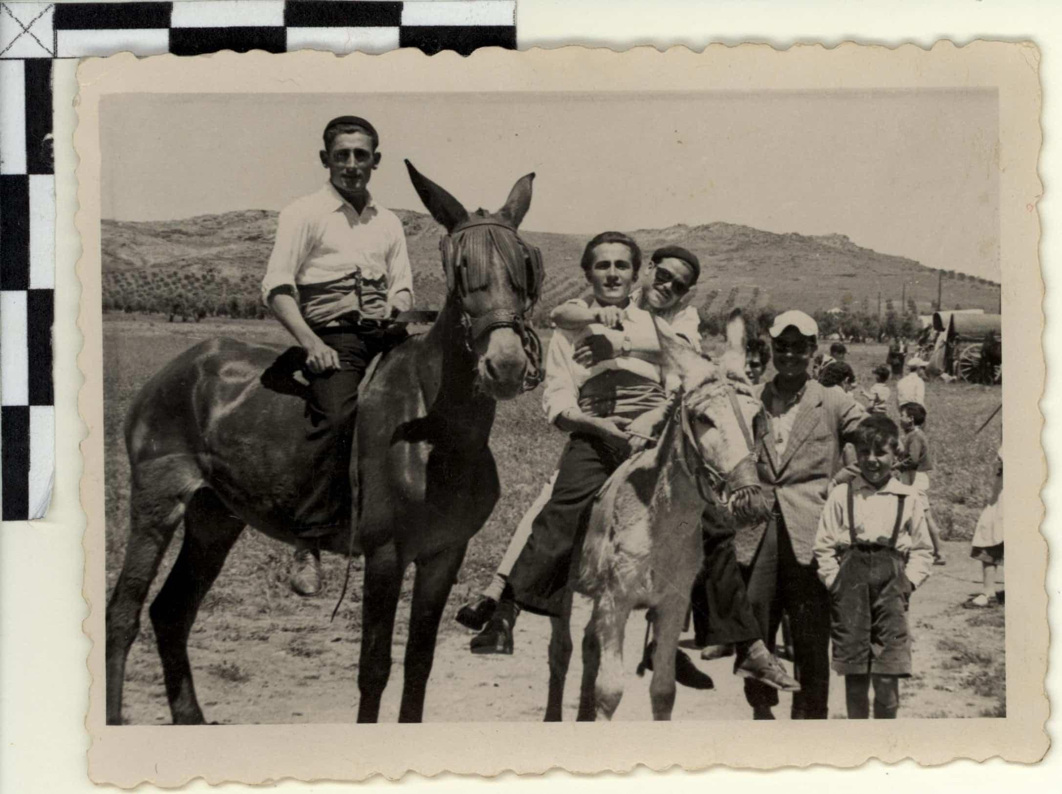 Nuevas fotografías antiguas de Herencia: Feria y la Romería 110