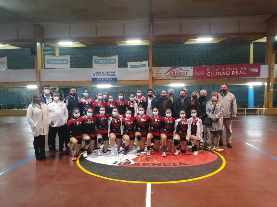 Celebrado el Trofeo Diputación de Balonmano en categoría Juvenil Femenino 4