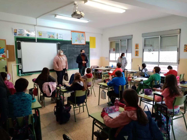 Visita a los colegios por el 42ª Aniversario de la Constitución Española 8