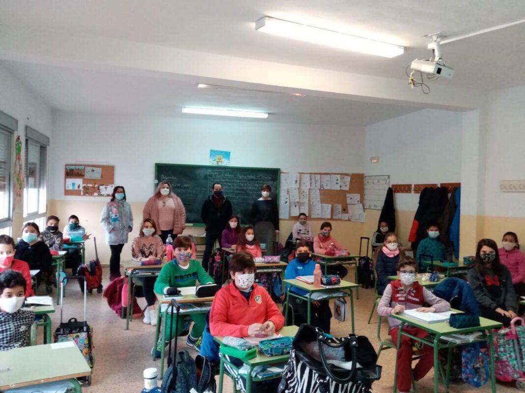 Visita a los colegios por el 42ª Aniversario de la Constitución Española 10