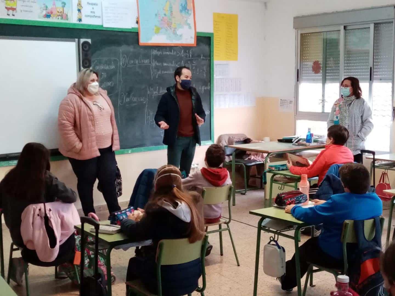Visita a los colegios por el 42ª Aniversario de la Constitución Española 9