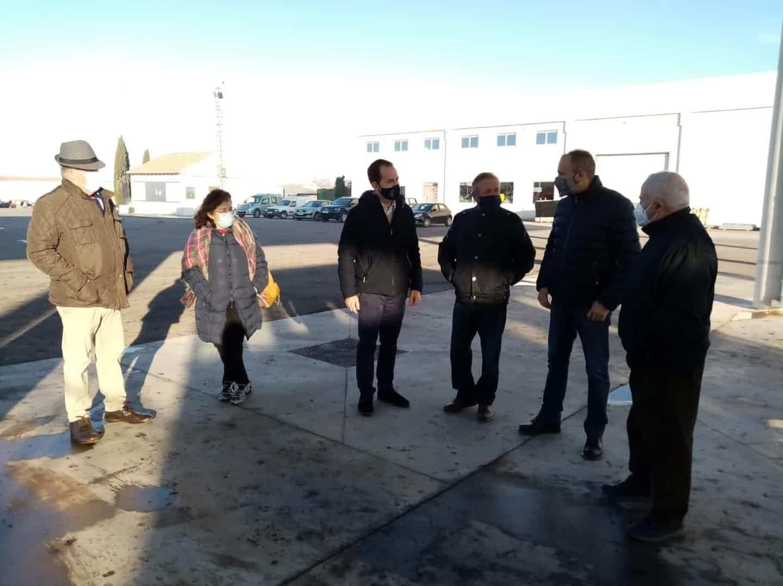 """Visita institucional a la Cooperativa Almazarera """"La Encarnación"""" en Herencia 5"""