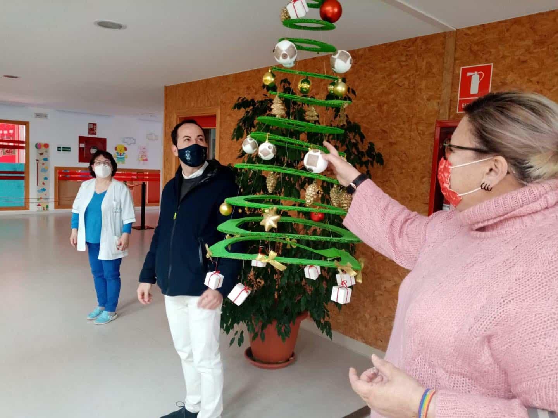 Visita a la Escuela Infantil de Herencia para conocer como llegará la Navidad 12