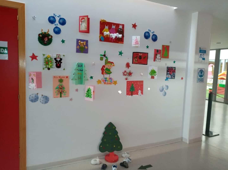Visita a la Escuela Infantil de Herencia para conocer como llegará la Navidad 11