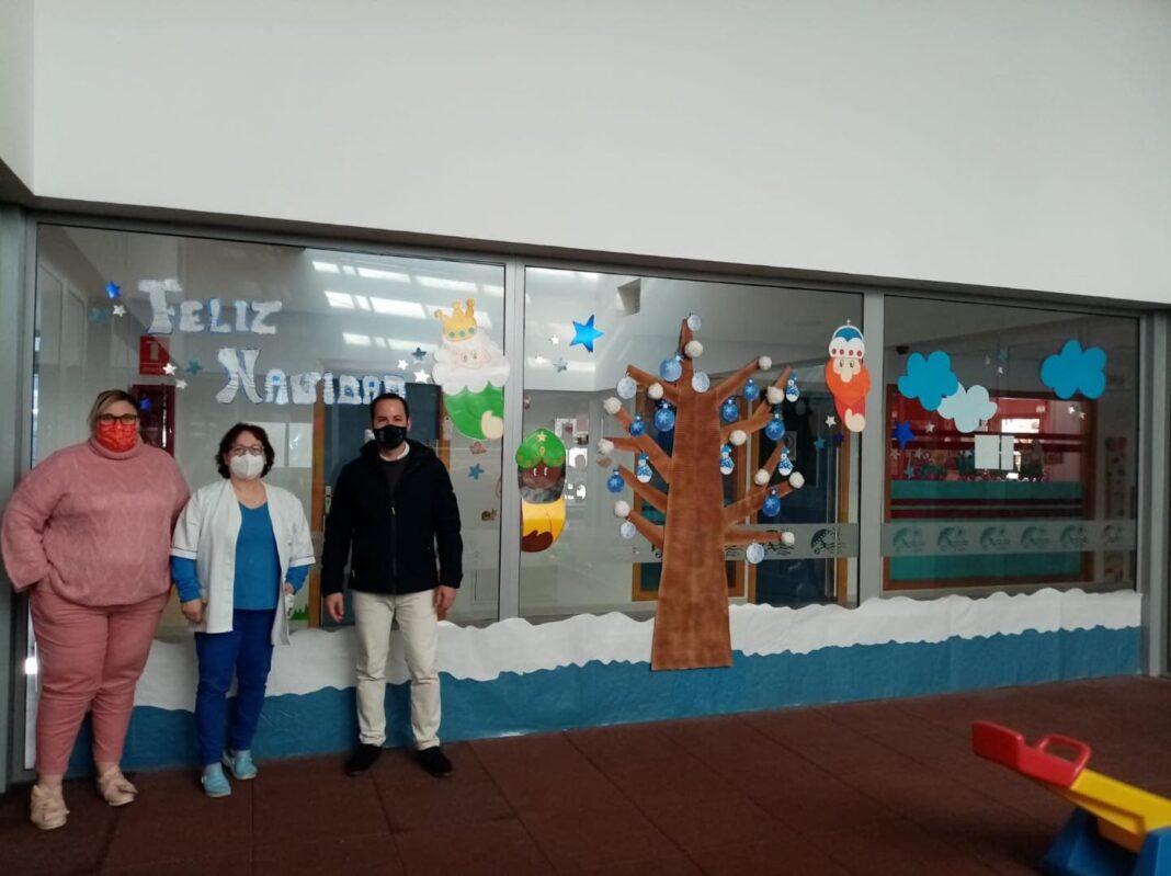 Visita a la Escuela Infantil de Herencia para conocer como llegará la Navidad 13