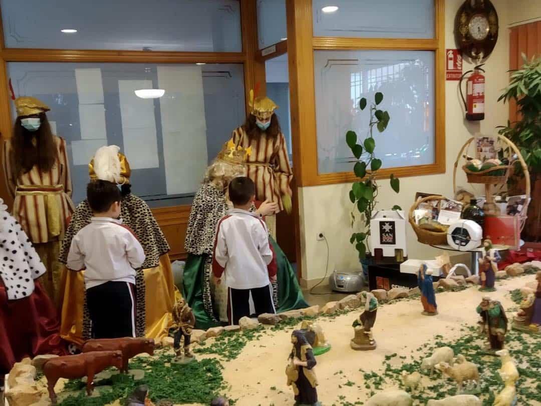 Los Reyes Magos también visitarón el Colegio de Nuestra Señora de las Mercedes 9