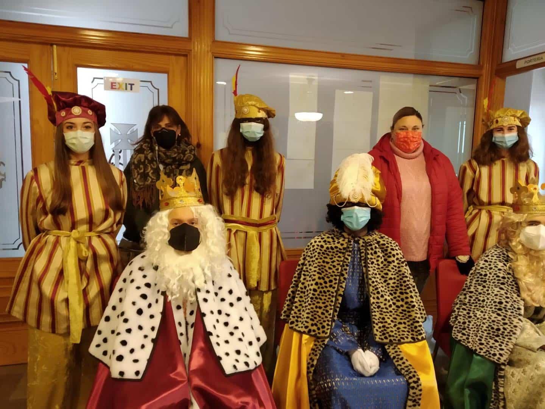 Los Reyes Magos también visitarón el Colegio de Nuestra Señora de las Mercedes 8