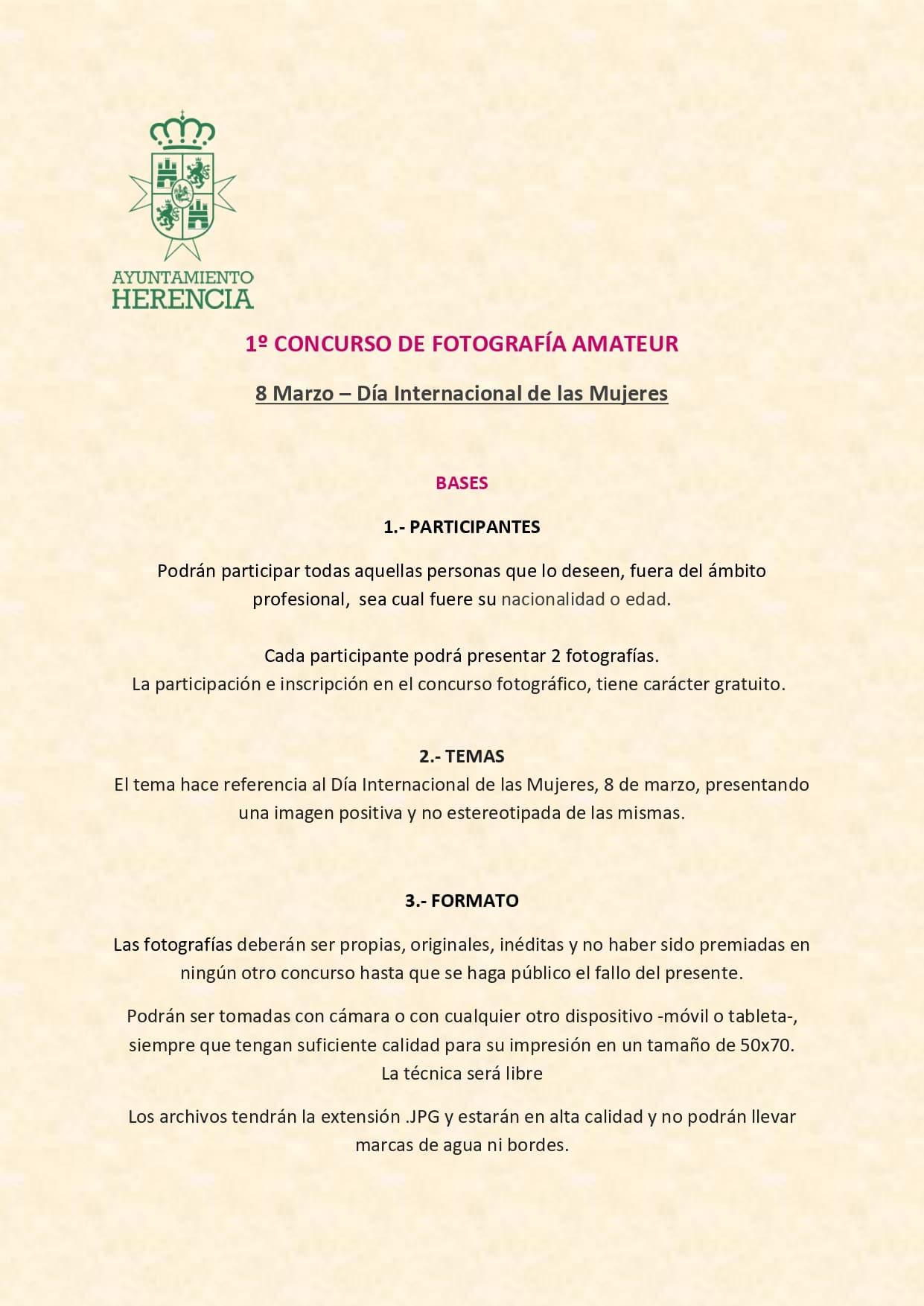 """I Concurso de Fotografía Amateur """"8M-Día Internacional de la Mujer"""" 7"""
