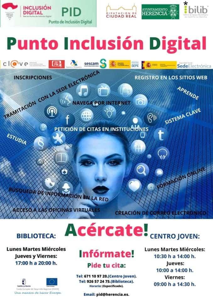 El Punto de Inclusión Digital comienza el año ampliando su horario 1