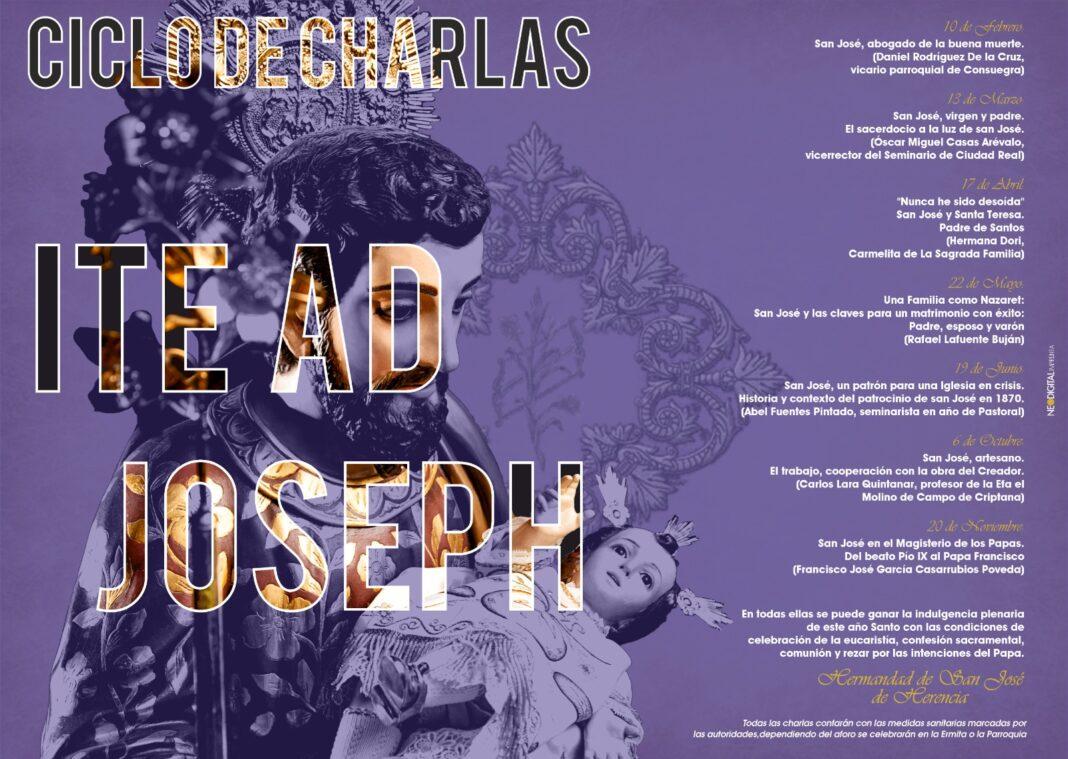 """Programa de charlas """"Ite ad Joseph"""", sobre la figura de San José 4"""