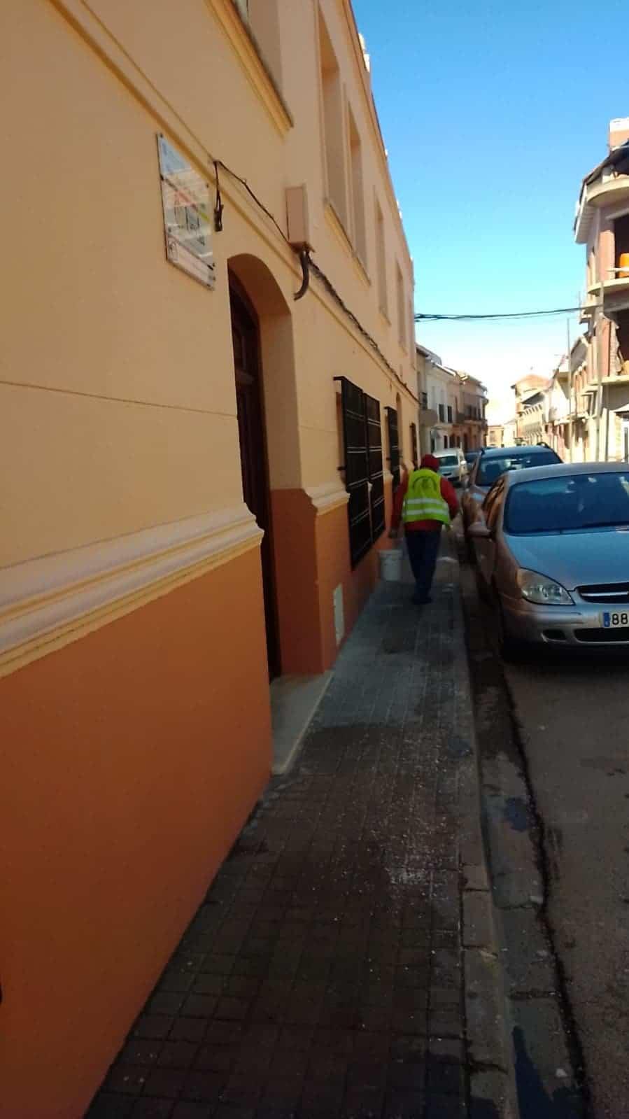"""Los colegios de Herencia acondicionados después de """"Filomena"""" 9"""