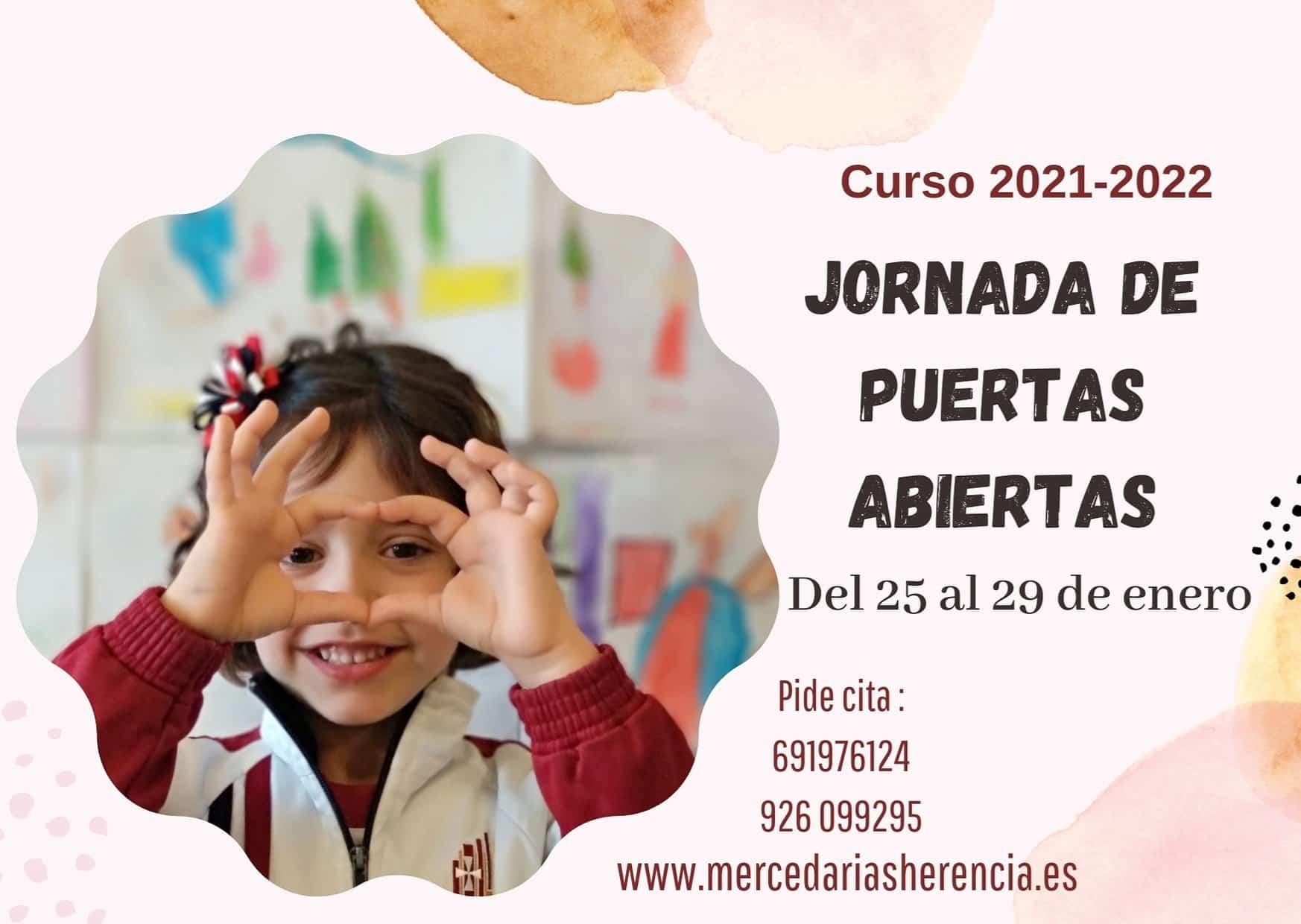 Los centros educativos mercedarios de Herencia abren el plazo de admisión para sus colegios 5