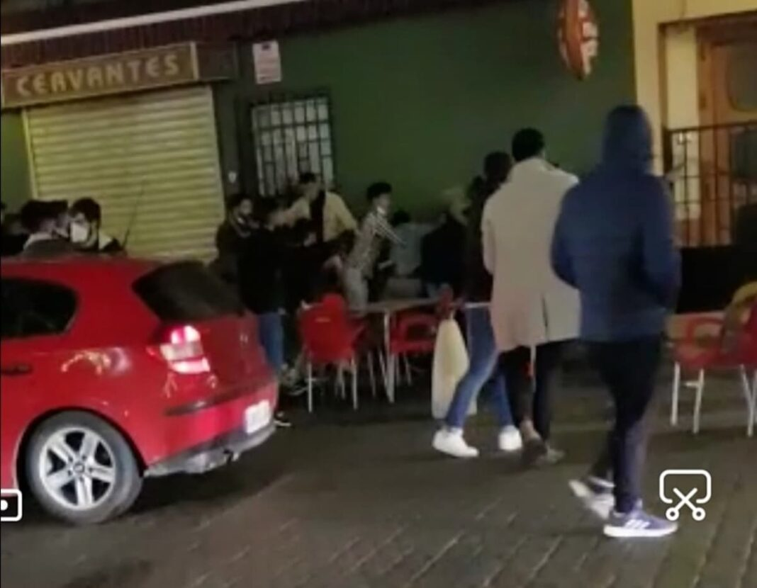 Altercados durante la Nochevieja en alguna terrazas de bares en Herencia 1