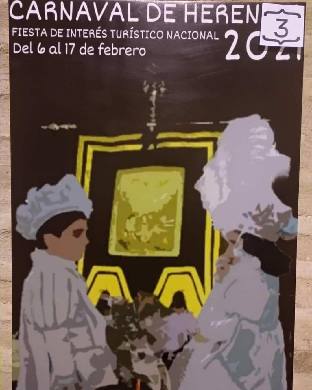 Conoce los 4 carteles del concurso para el Carnaval de Herencia 2021 11