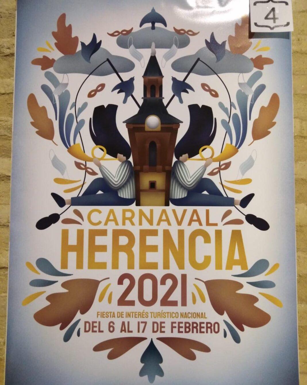 Elegido el cartel del Carnaval de Herencia 2021 1