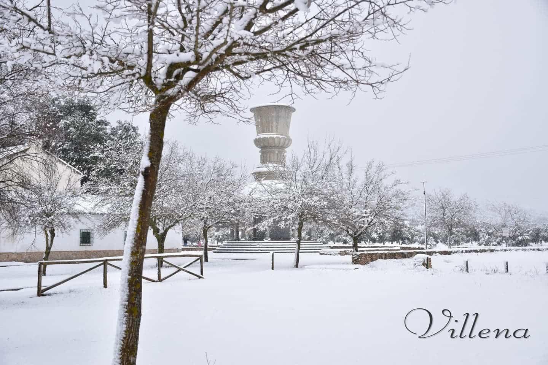 Las nevadas llegan Herencia y a toda Castilla-La Mancha (actualizado) 92