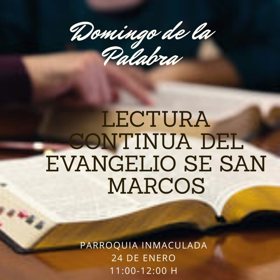 Lectura continuada del evangelio de San Marcos en la parroquia de Herencia 4
