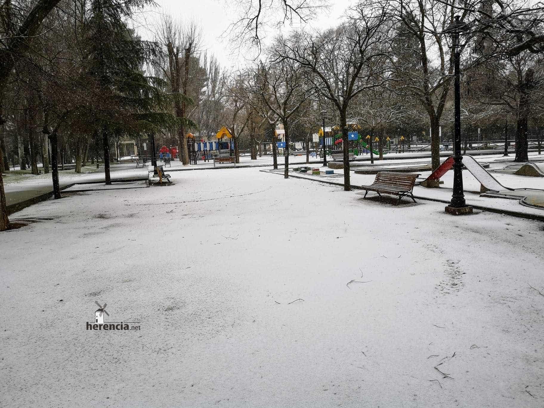 Las nevadas llegan Herencia y a toda Castilla-La Mancha (actualizado) 110