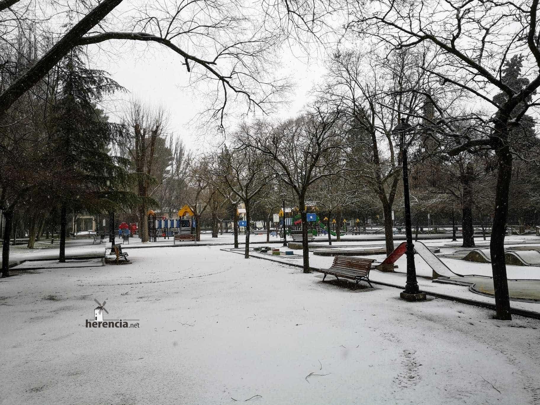 Las nevadas llegan Herencia y a toda Castilla-La Mancha (actualizado) 111