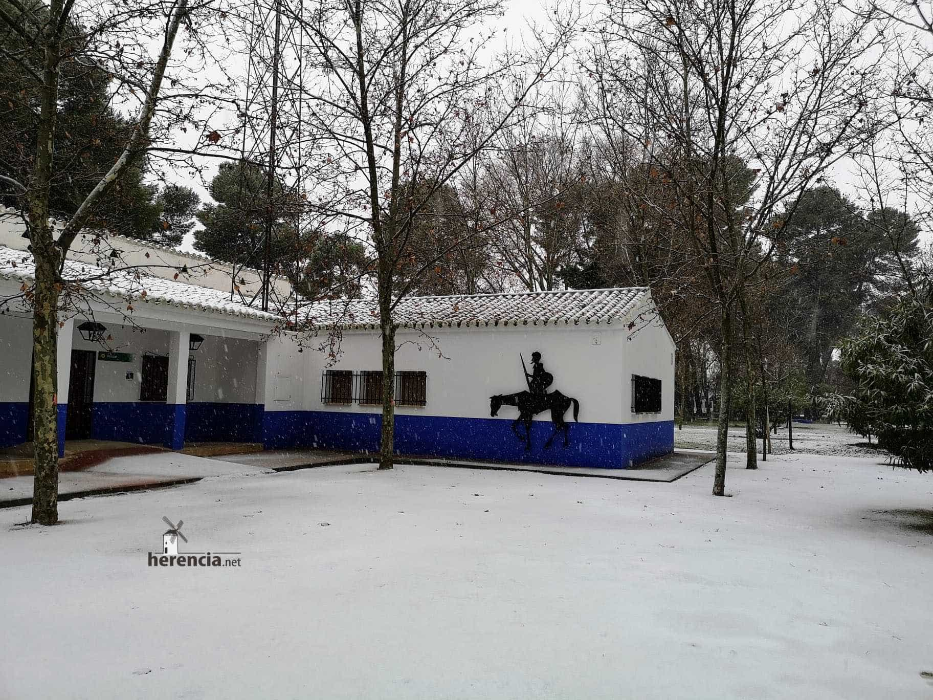 Las nevadas llegan Herencia y a toda Castilla-La Mancha (actualizado) 115