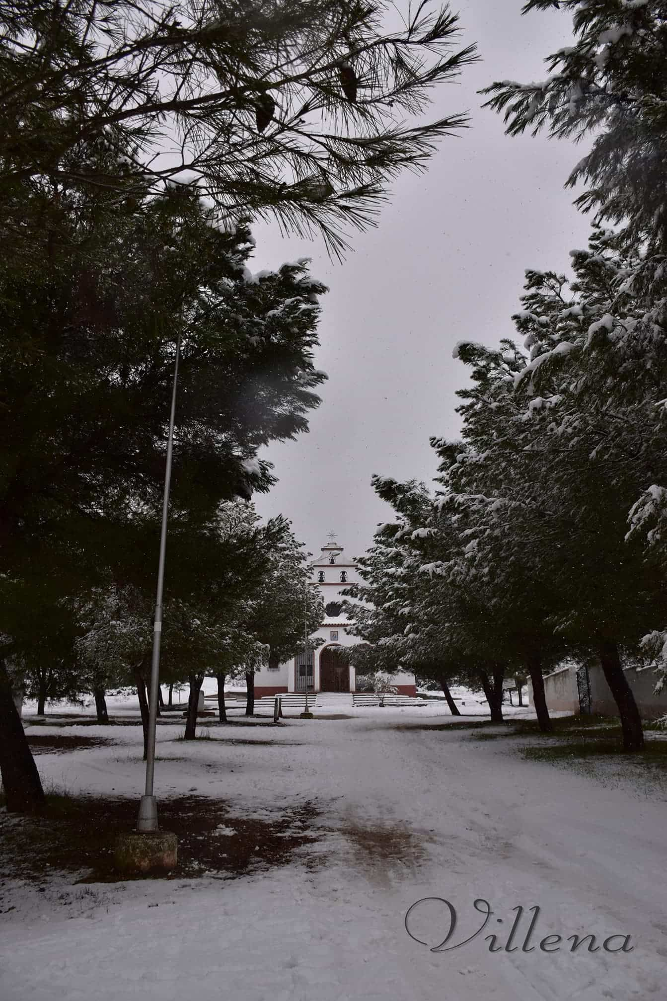 Las nevadas llegan Herencia y a toda Castilla-La Mancha (actualizado) 93