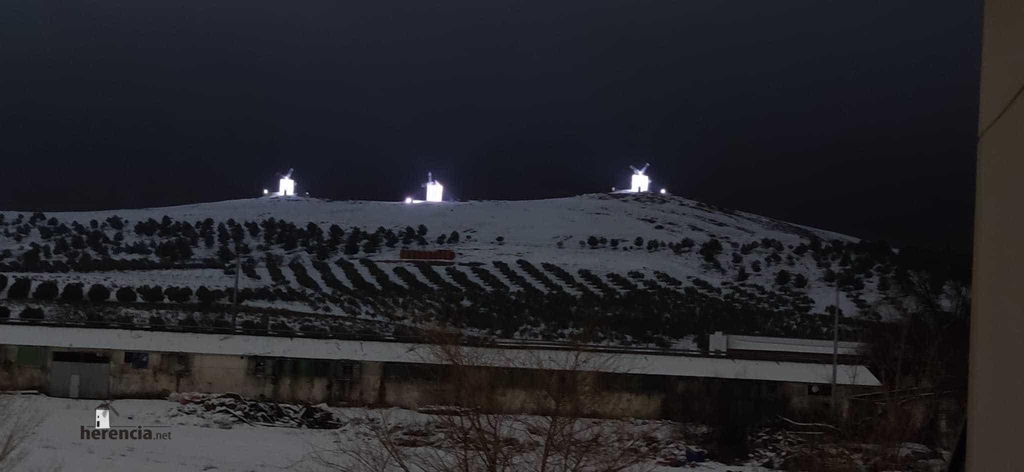 Más fotografías de las nieves de 2021 en Herencia 121