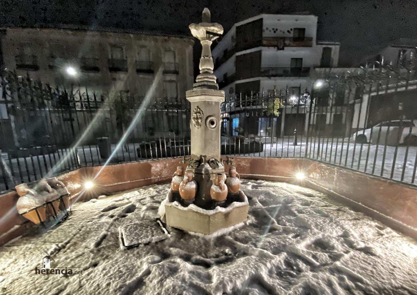 Más fotografías de las nieves de 2021 en Herencia 123