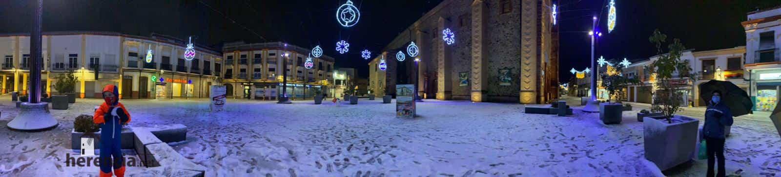 Más fotografías de las nieves de 2021 en Herencia 125
