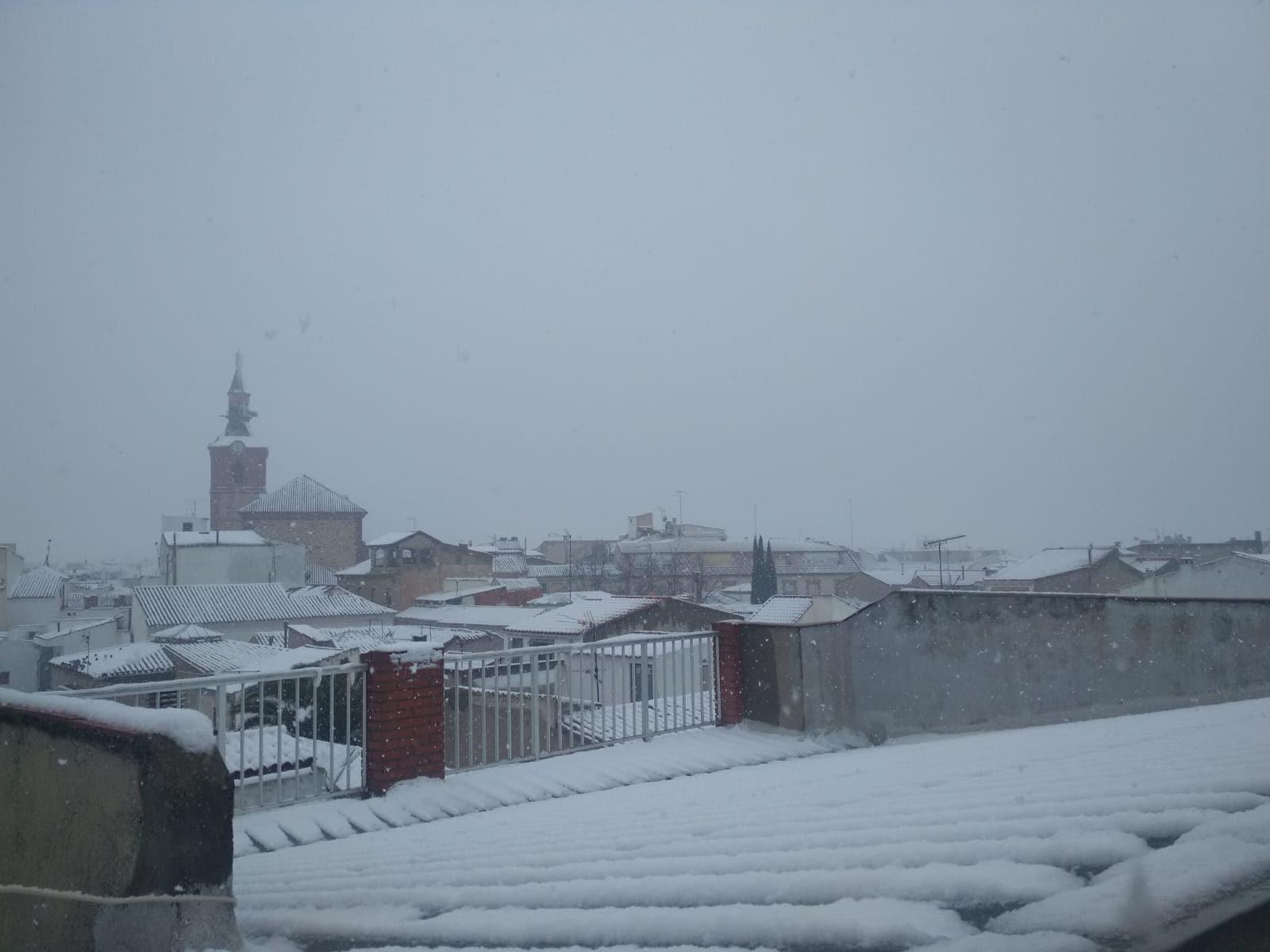 Las nevadas llegan Herencia y a toda Castilla-La Mancha (actualizado) 90
