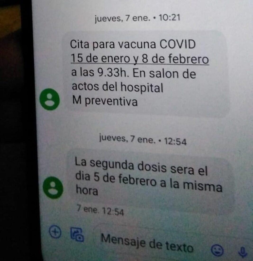 Cuidado con los mensajes SMS falsos con citas para vacunarse de Covid-19 1