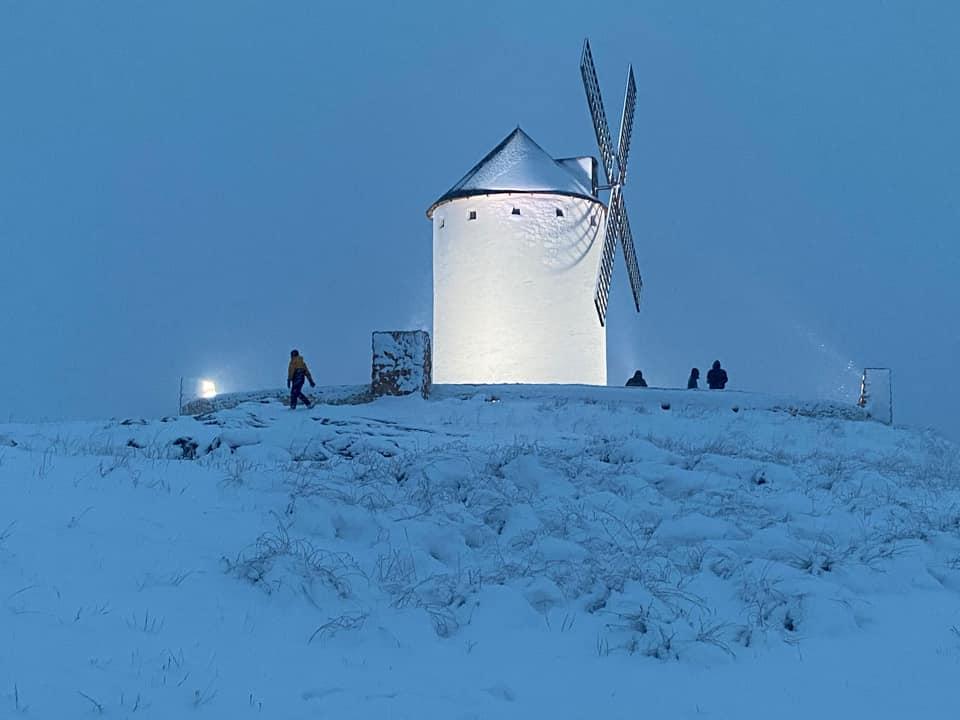 Las nevadas llegan Herencia y a toda Castilla-La Mancha (actualizado) 124