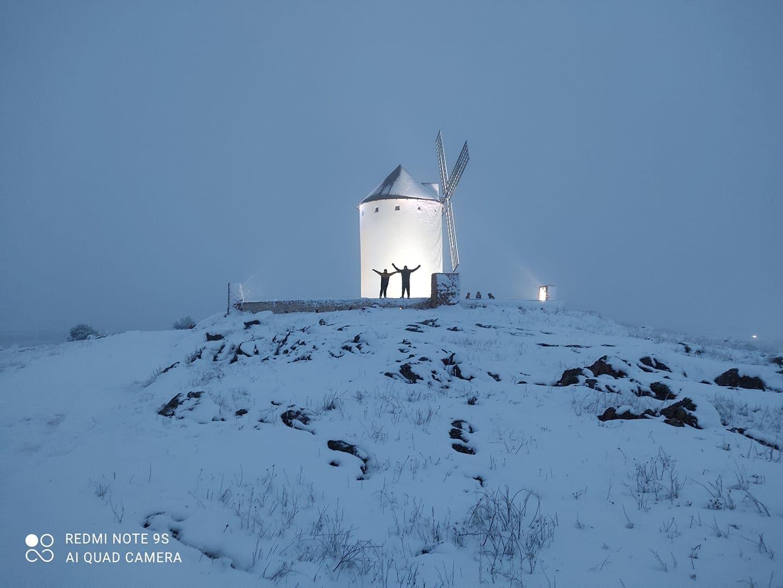 Las nevadas llegan Herencia y a toda Castilla-La Mancha (actualizado) 85