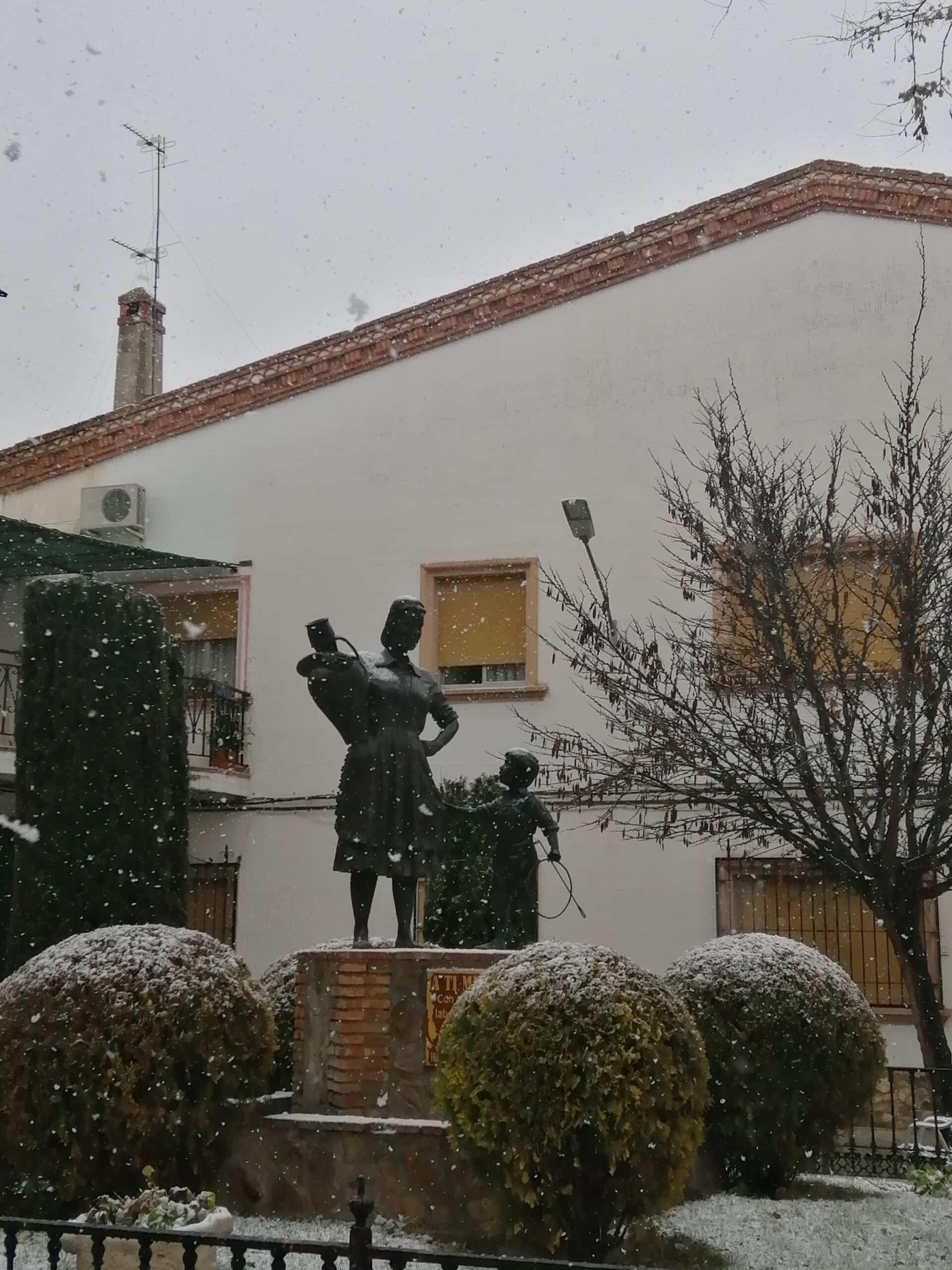 Las nevadas llegan Herencia y a toda Castilla-La Mancha (actualizado) 97