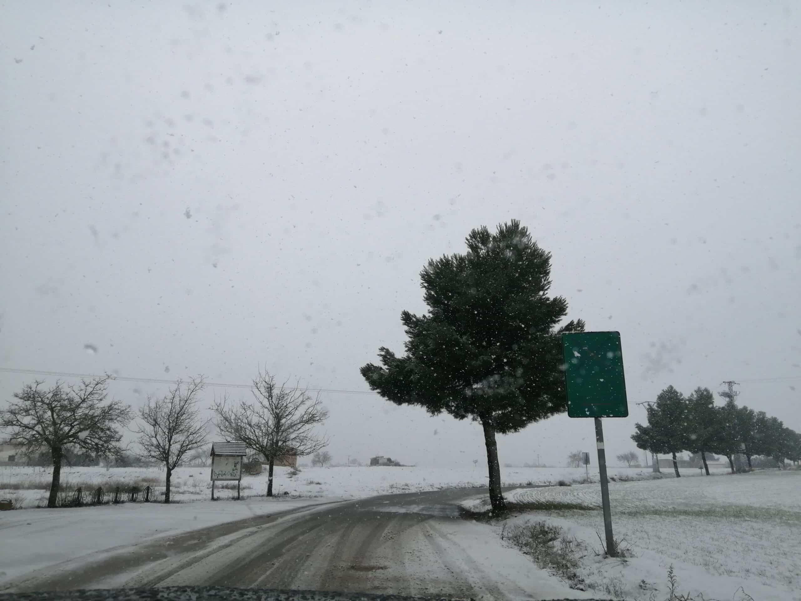 Las nevadas llegan Herencia y a toda Castilla-La Mancha (actualizado) 98