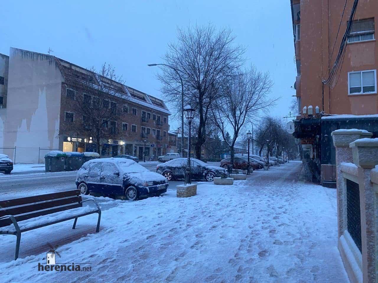 Más fotografías de las nieves de 2021 en Herencia 134