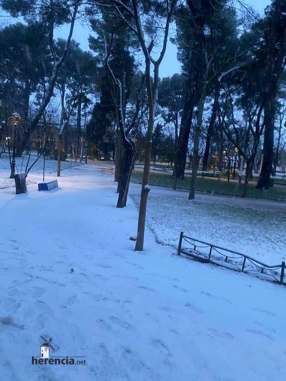 Más fotografías de las nieves de 2021 en Herencia 139