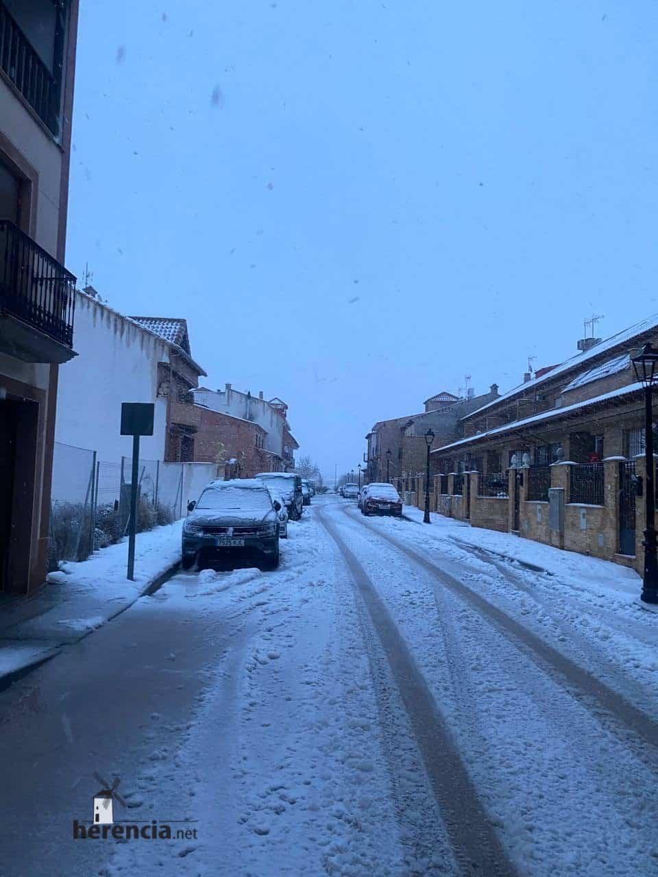 Más fotografías de las nieves de 2021 en Herencia 142