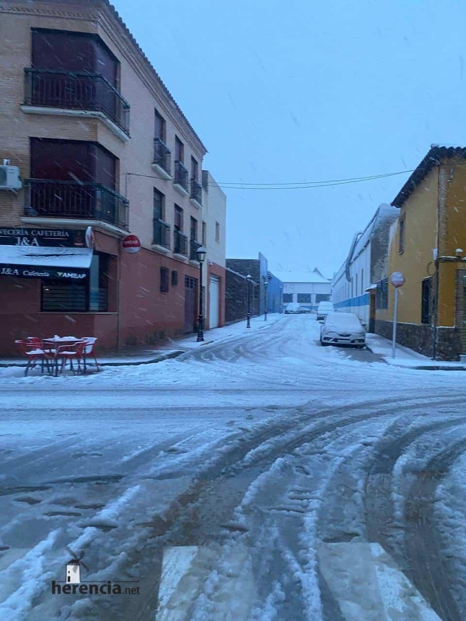 Más fotografías de las nieves de 2021 en Herencia 143