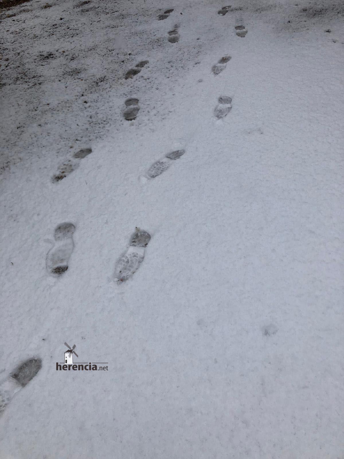 Las nevadas llegan Herencia y a toda Castilla-La Mancha (actualizado) 119