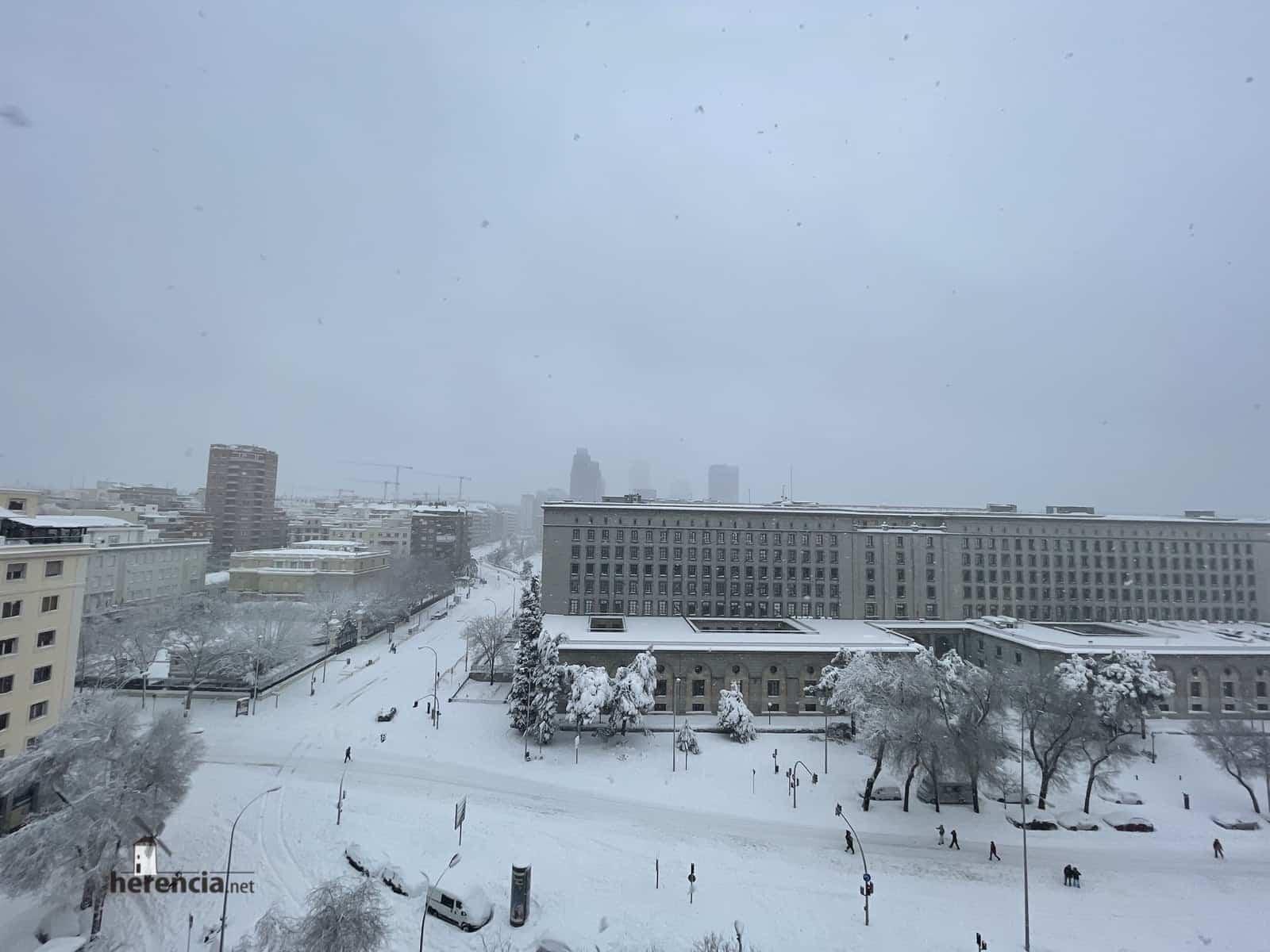 Más fotografías de las nieves de 2021 en Herencia 153