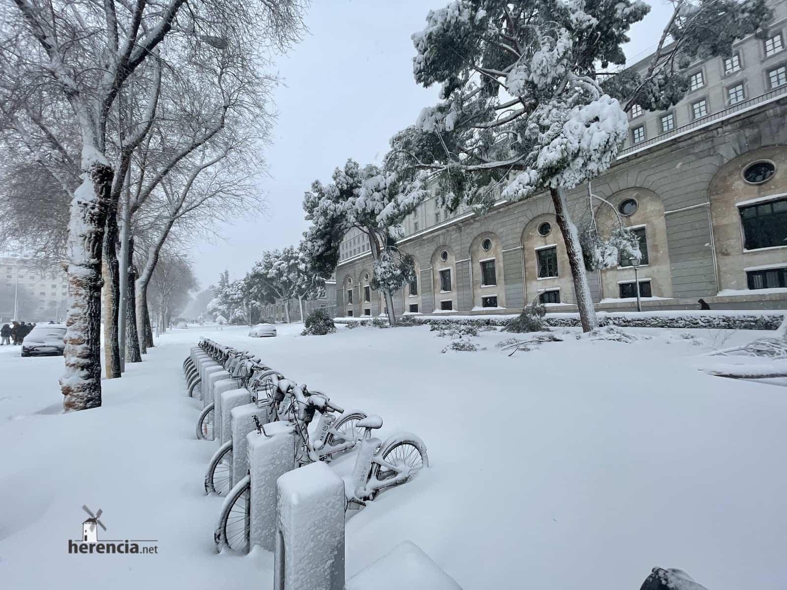 Más fotografías de las nieves de 2021 en Herencia 178