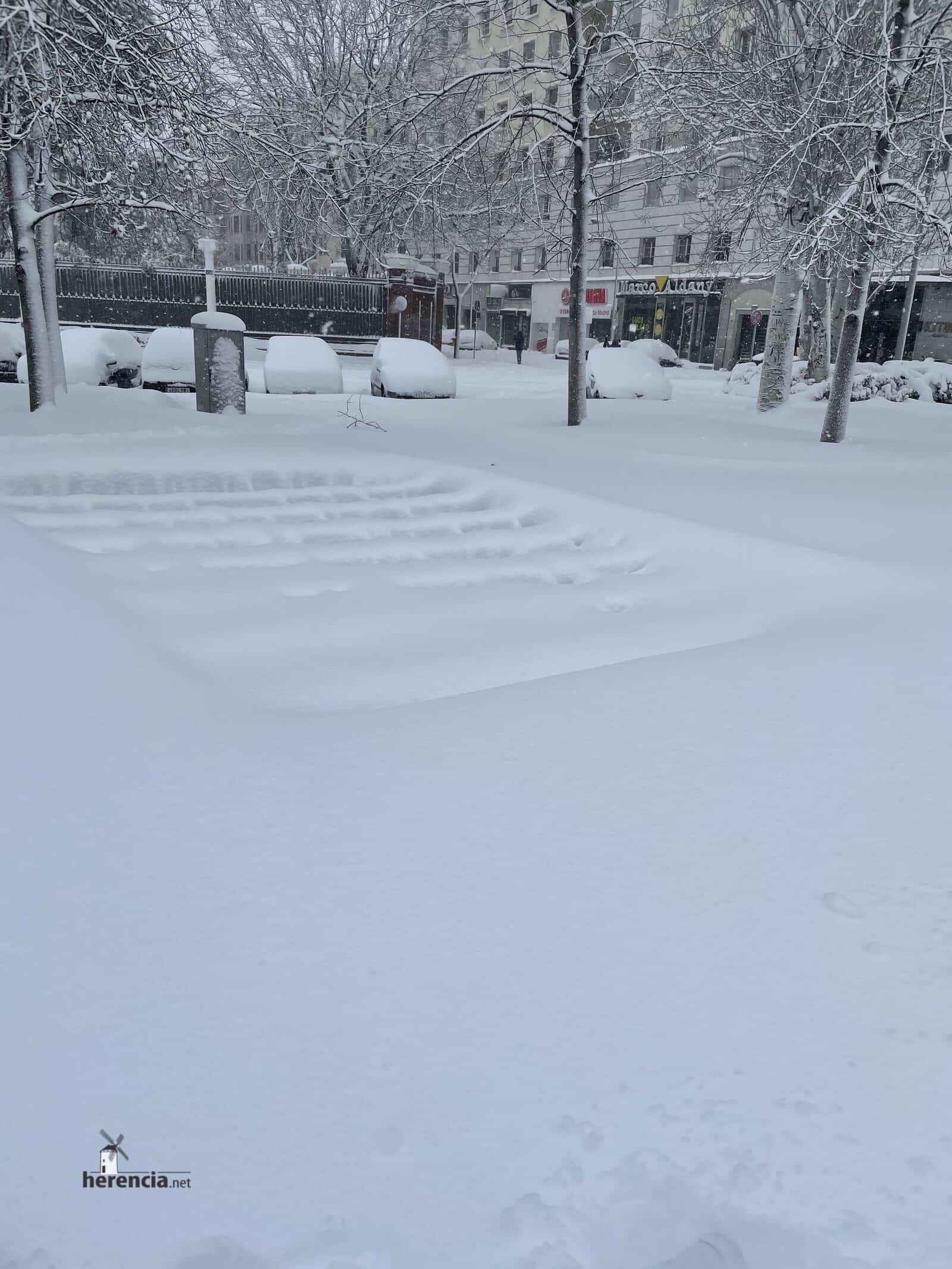 Más fotografías de las nieves de 2021 en Herencia 173
